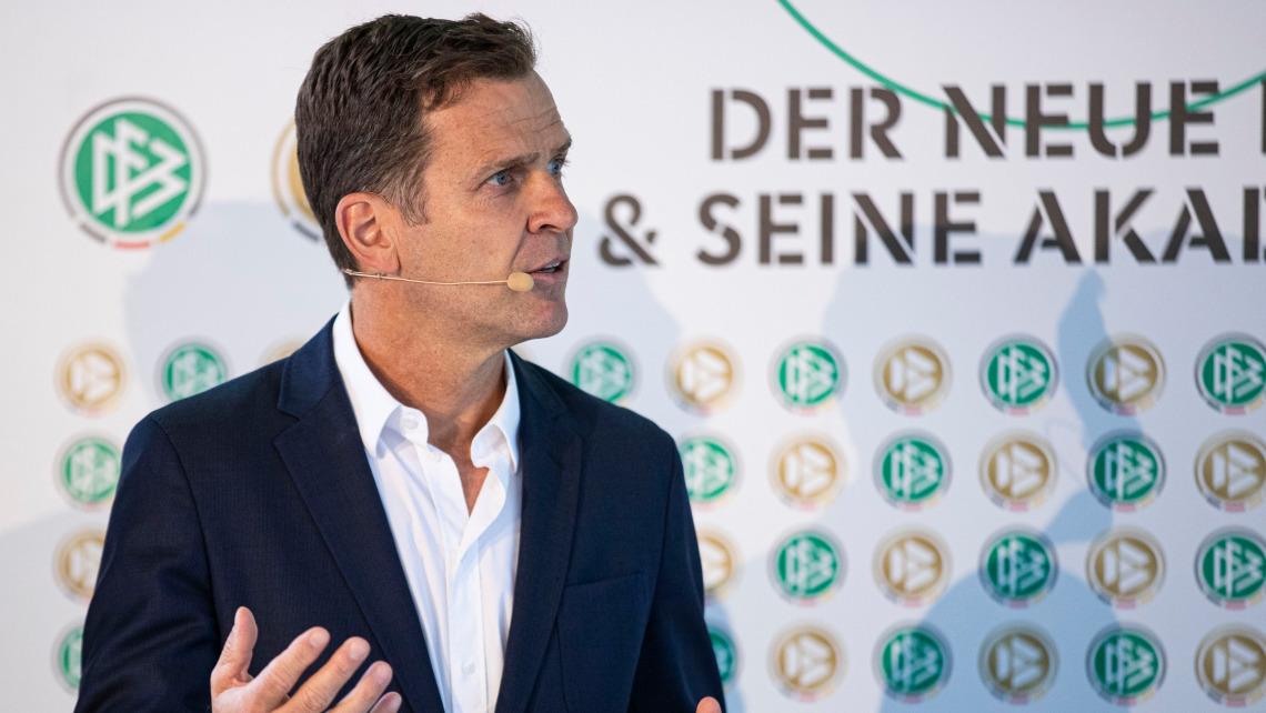 Porträt von DFB Direktor Oliver Bierhoff