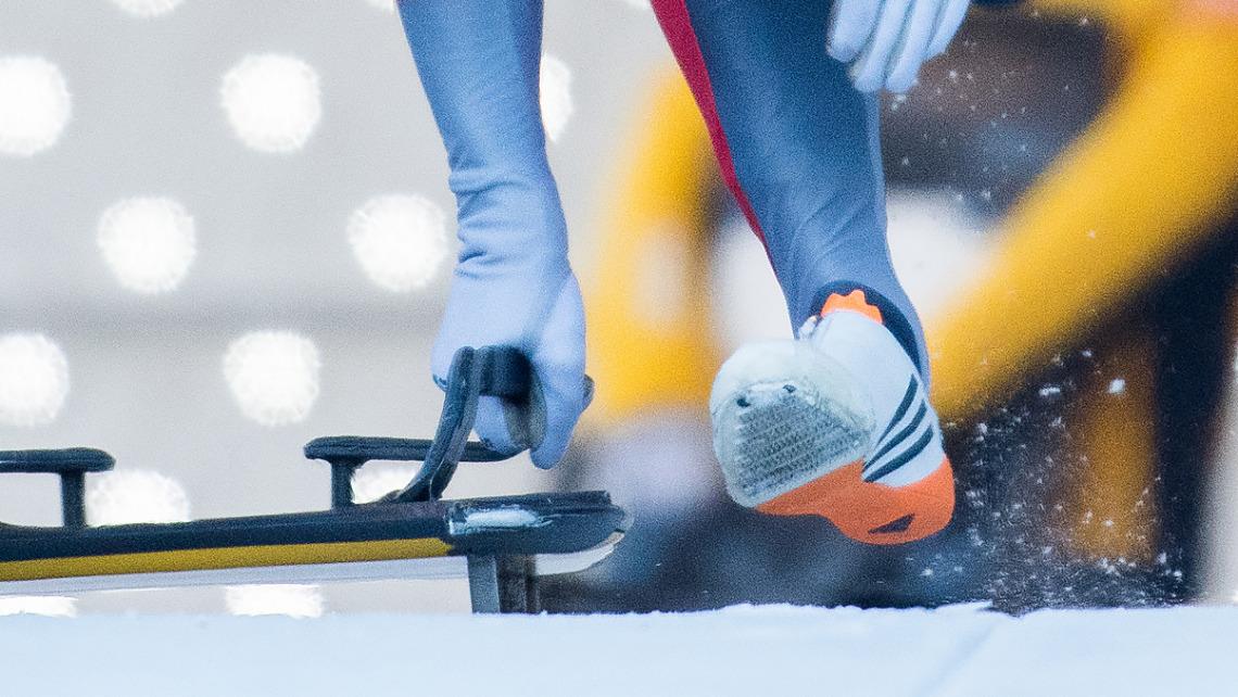 Skeleton-Weltcup in Innsbruck-Igls: Für einen Podestplatz reichte es bei den Männern diesmal nicht. (Foto: Viesturs Lacis)