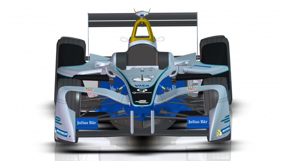Formula E unveils revolutionary new front wing