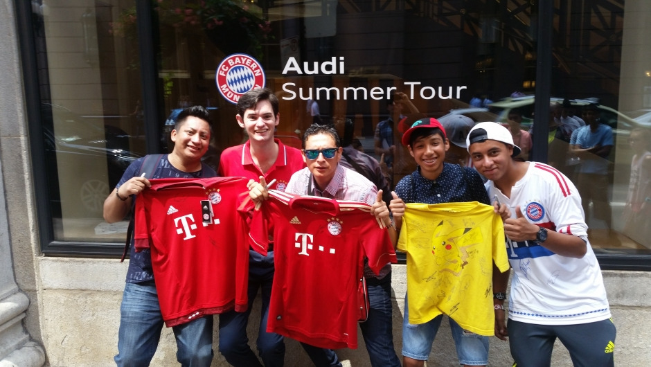 Summer in the States: DHL and FC Bayern in America