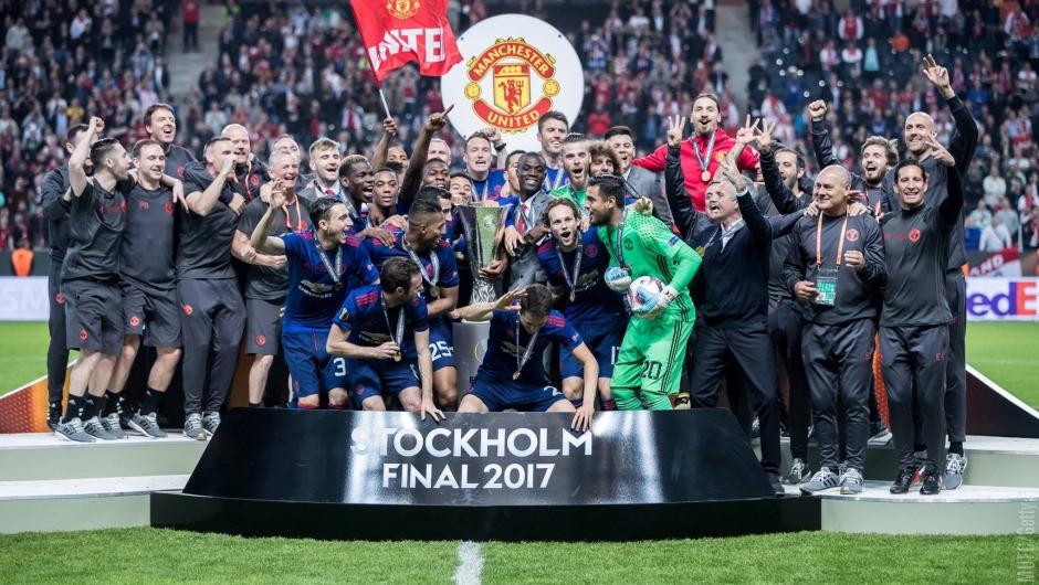 Manchester United win UEFA Europa League