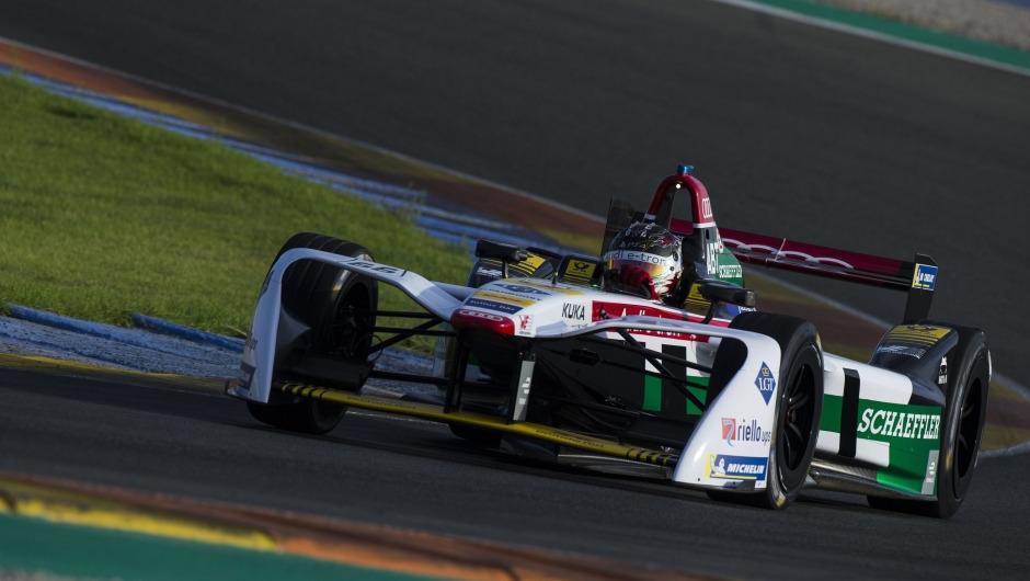 Audi Sport ABT Schaeffler all tooled up for the new FIA Formula E season