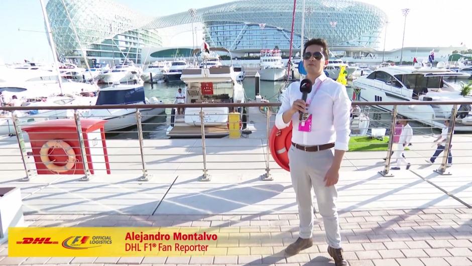 DHL F1 Fan Reporter Alejandro experiences an unforgettable weekend in Abu Dhabi