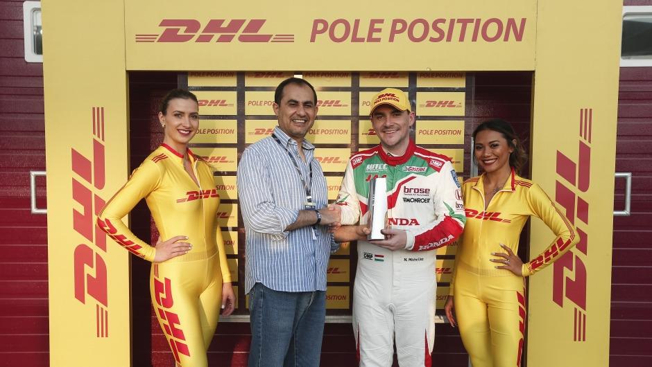 Norbert Michelisz wins DHL Pole Position Award