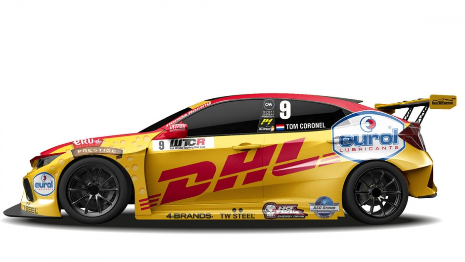 Tom Coronel to race Boutsen Ginion Racing Honda CIVIC in 2018 FIA WTCR