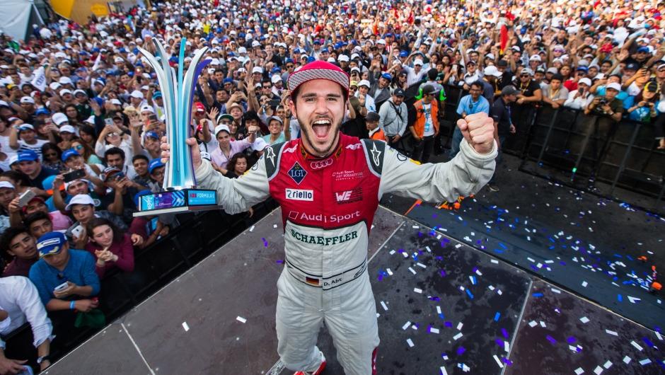 Premiere in Mexico: Daniel Abt secures his first ABB FIA Formula E win