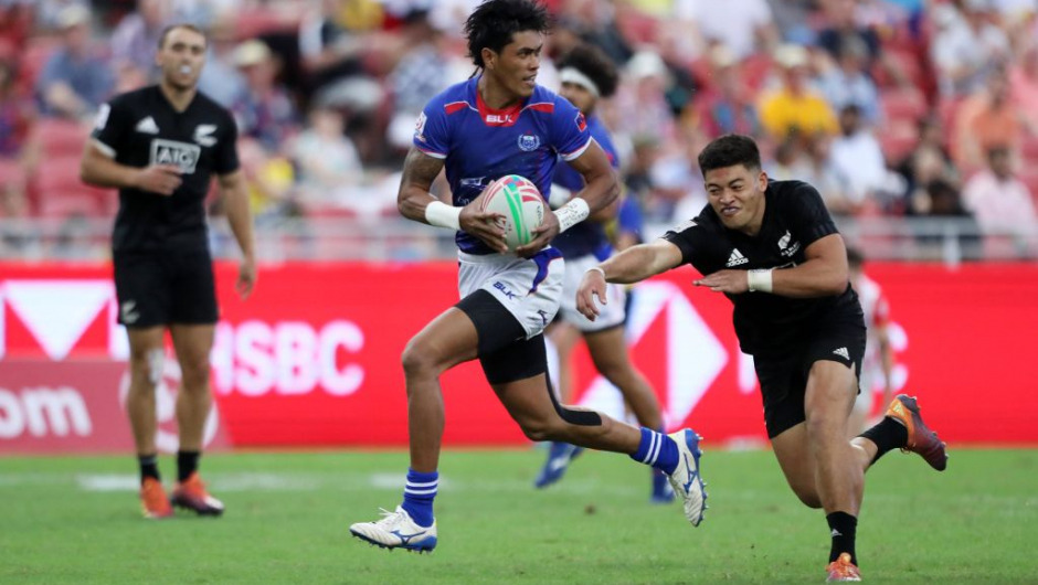 DHL IPA: Samoa's John Vaili shines at sensational Singapore 7s