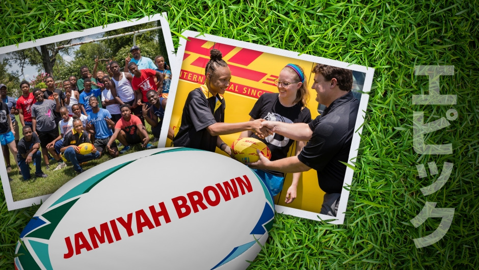 Match Ball Delivery: Jamiyah Brown