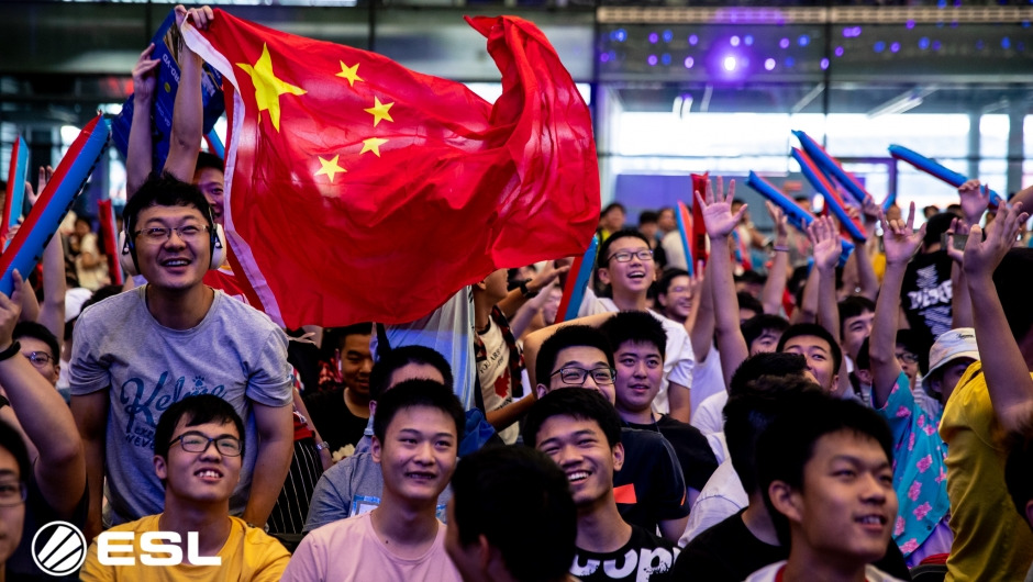DHL delivering esports to China