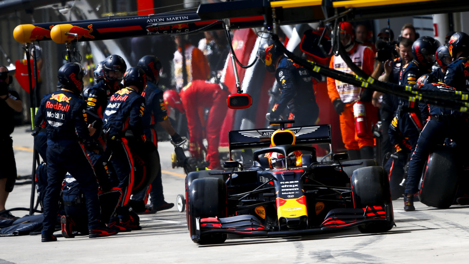 Red Bull clinch 2019 DHL Fastest Pitstop Award with new world record