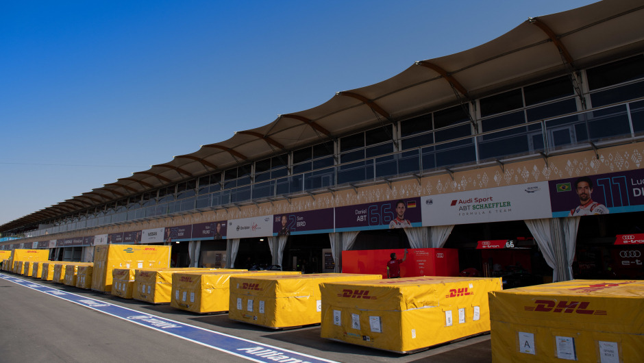DHL and Formula E off to a flying start in the new racing season