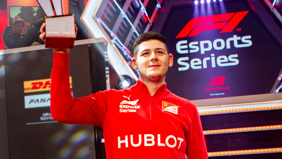 2019 F1 New Balance Esports Pro Series: David Tonizza wins Drivers' Championship