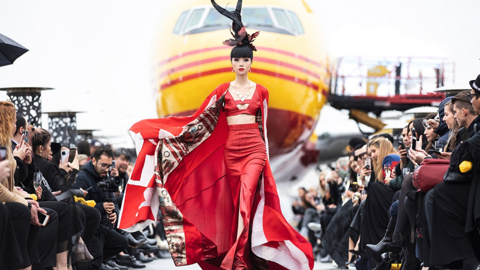 """Runway on the Runway"" at JFK Airport sets new fashion show standards"