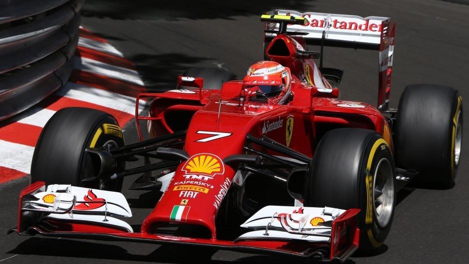 Iceman strikes back to drive DHL Fastest Lap in Monaco
