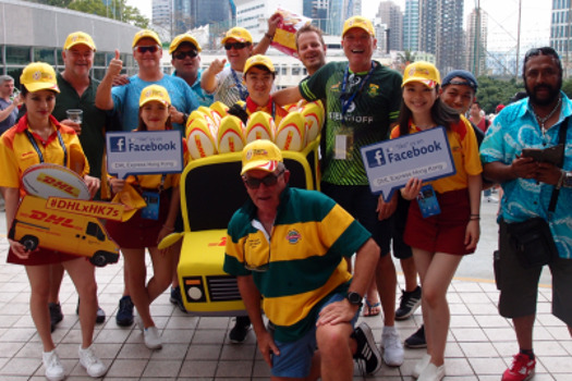 DHL RUGBY ON FACEBOOK