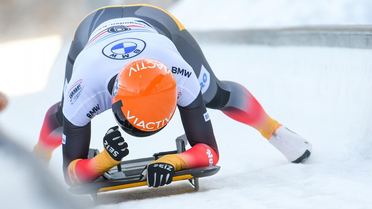 Nach gelungenem Start konnte Jaqueline Lölling während der gesamten Fahrt Top-Geschwindigkeiten erzielen (Foto: Viesturs Lacis)