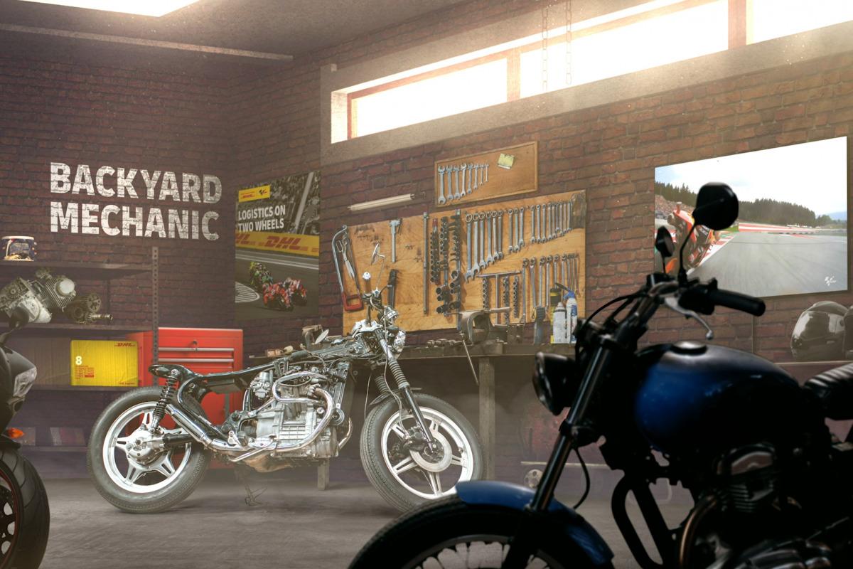 MotoGP - #BackyardMechanic