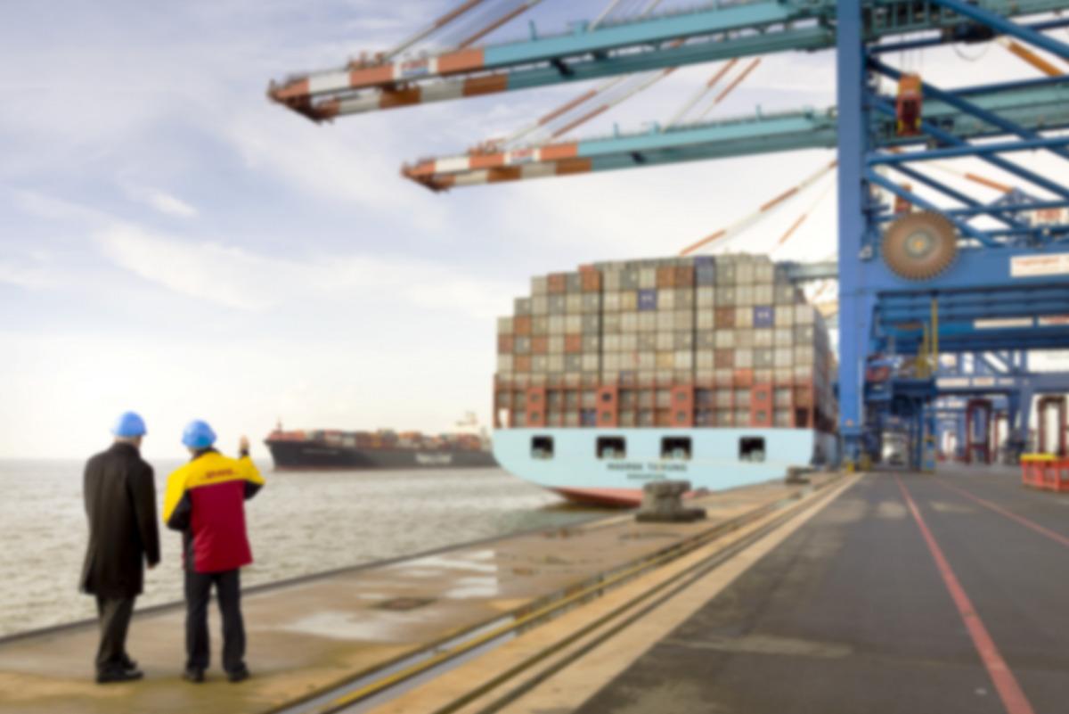 Transporte marítimo de DHL