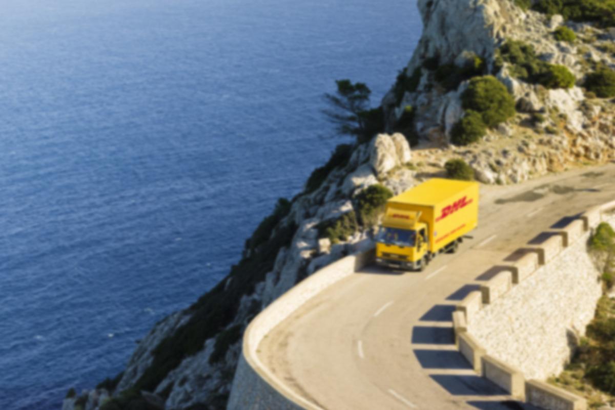 Transporte terrestre de DHL