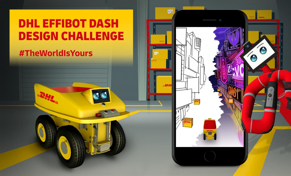 DHL EffiBOT Dash Design Design Challenge