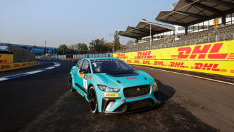 DHL announced as global logistics partner of the Jaguar I-PACE eTROPHY Championship