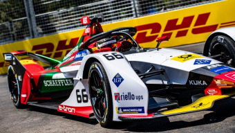 Formula E finale in the USA: DHL electrifies New York City