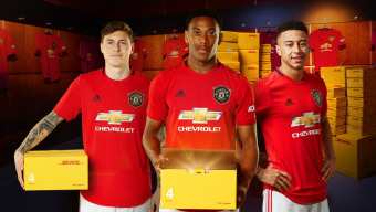 99 WINNERS: MANCHESTER UNITED HOME SHIRT DELIVERED BY DHL