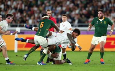 South Africa overwhelmed England 32-12 in the 2019 Rugby World Cup championship match in Yokohama, Japan.