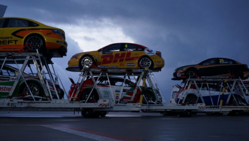 DHL and the WTCC: By air, land and sea