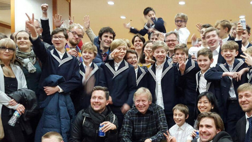 Gewandhausorchester Players on Tour in Asia with Thomas Choir