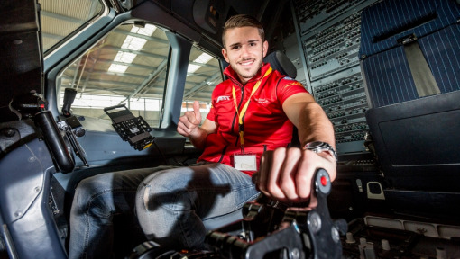 Behind the Scenes with Daniel Abt: Formula E Pit Stop at the DHL Hub in Leipzig