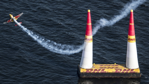 COMPETITION: TRAVEL TO RED BULL AIR RACE IN INDIANAPOLIS AND PRESENT THE DHL FASTEST LAP AWARD TO THE WORLD CHAMPION!