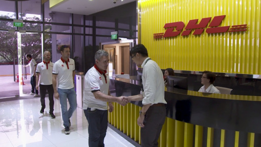 DHL eChampions Award: Mahindra Racing in Singapore