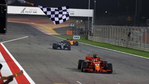 DHL Fastest Lap Award: FORMULA 1 2018 GULF AIR BAHRAIN GRAND PRIX