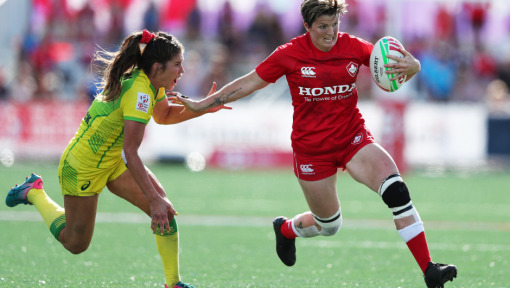 DHL IPA: Brittany Benn makes a boom at home