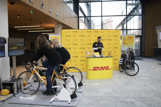 DHL Office Visits Europe