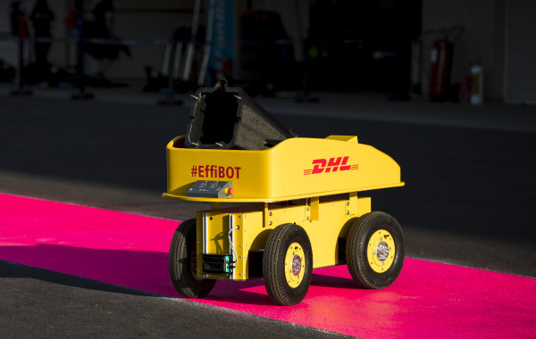 EffiBOT debuts in the paddock