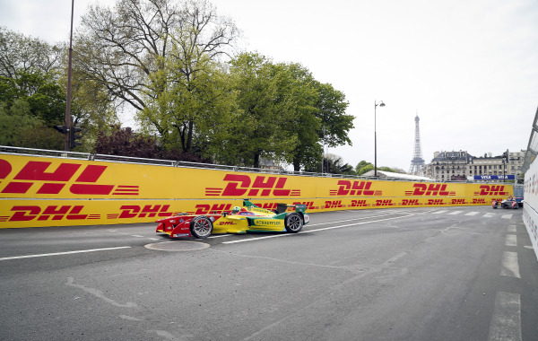 The first ever Paris E-Prix