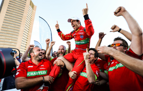 Lucas di Grassi wins his first championship
