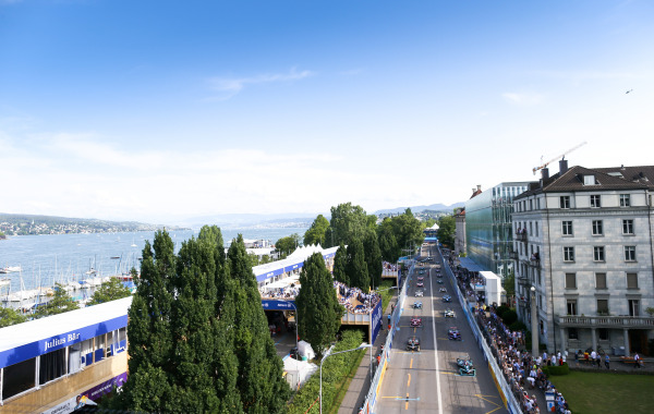 Formula E hosts the first motorsports race in Switzerland in over 60 years