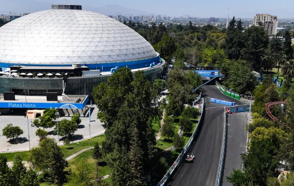 Santiago – Circuit Parque O'Higgins