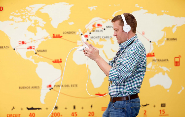 DHL's Augmented Reality E-XPERIENCE