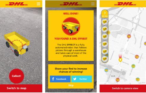 DHL Mobility Quest App