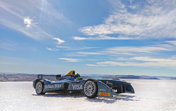 DHL delivers a Gen 1 car to the Arctic Ice Cap