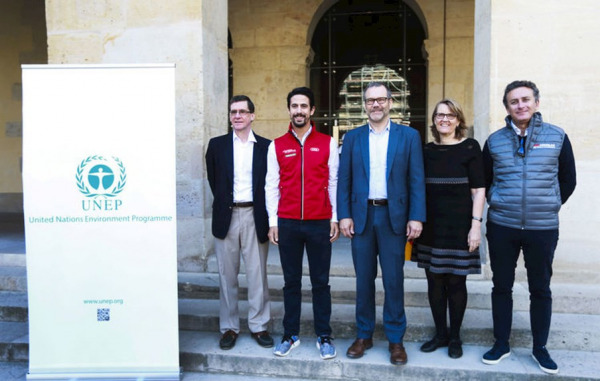 Formula E joins forces with UN Environment
