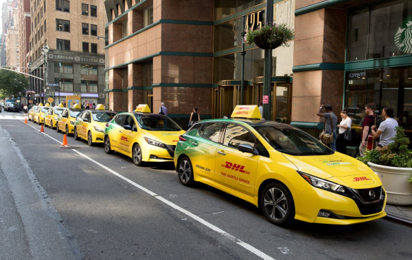 DHL eSHUTTLE activation in New York