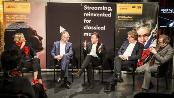 IDAGIO Tech meets Culture – Delivered by DHL