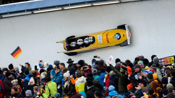Erfolgreicher Lokalmatador: Nico Walther holt sich mit seinem Team die Bronzemedaille. (Foto: Viesturs Lacis)