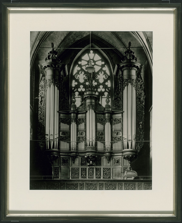 """Beethoven's organ"" in the St. Remigius Church (photo ca. 1905)"
