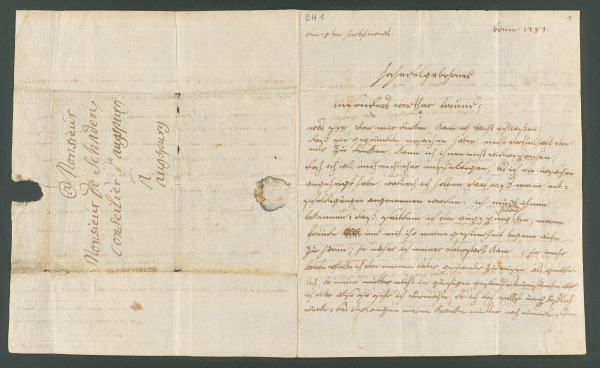 "Beethoven's letter to Joseph von Schaden in Augsburg, written in Bonn, September 15, 1787  ""(…) she was such a good, loving mother, my best friend (…)"""